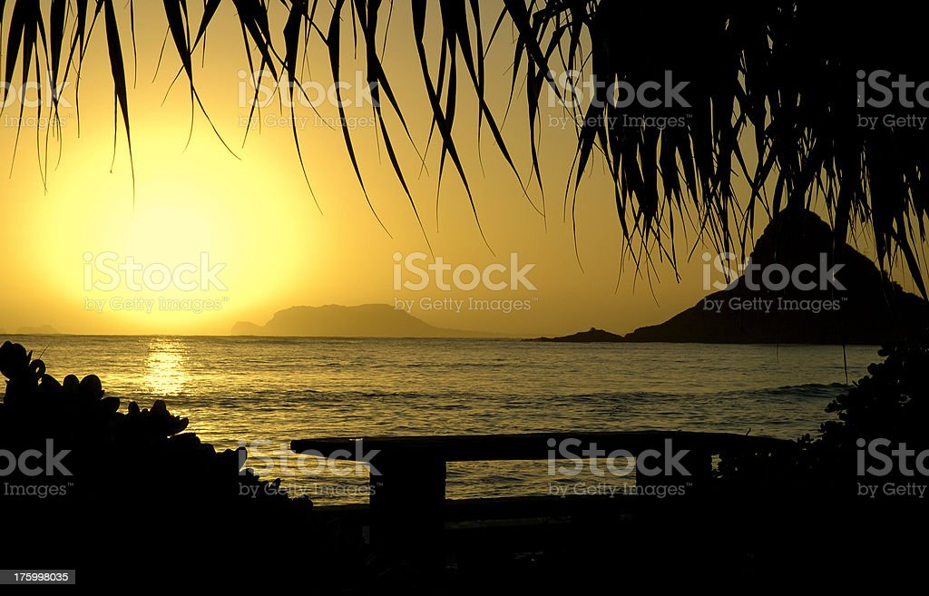 The Rising Sun royalty-free stock photo