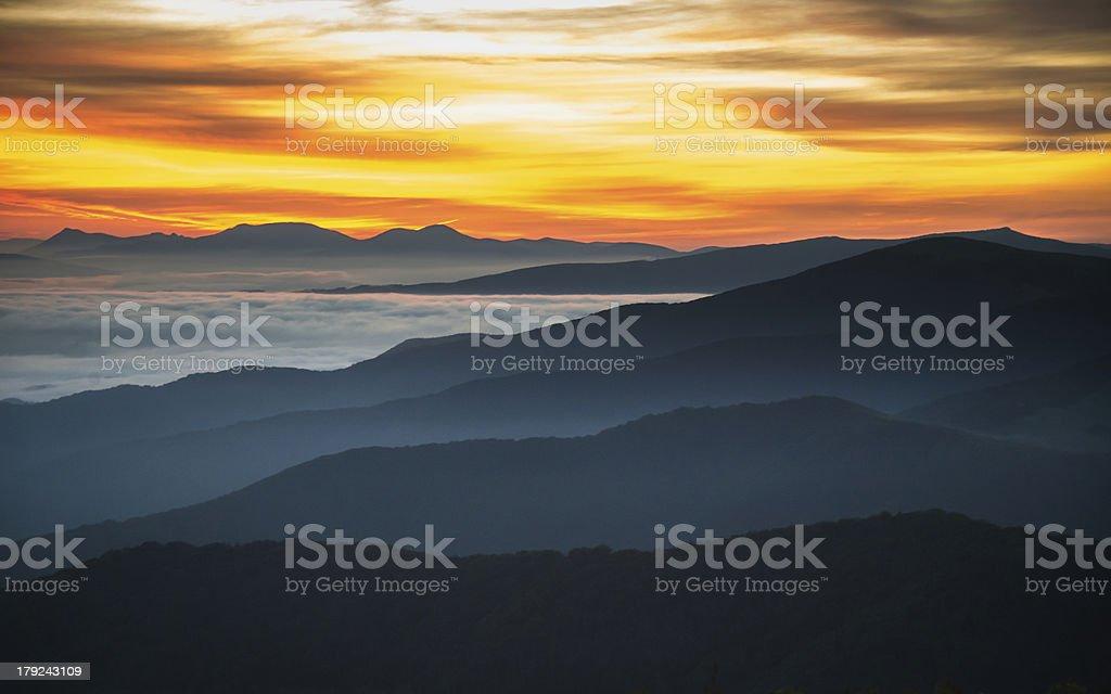 The Rising Sun royalty-free stock photo