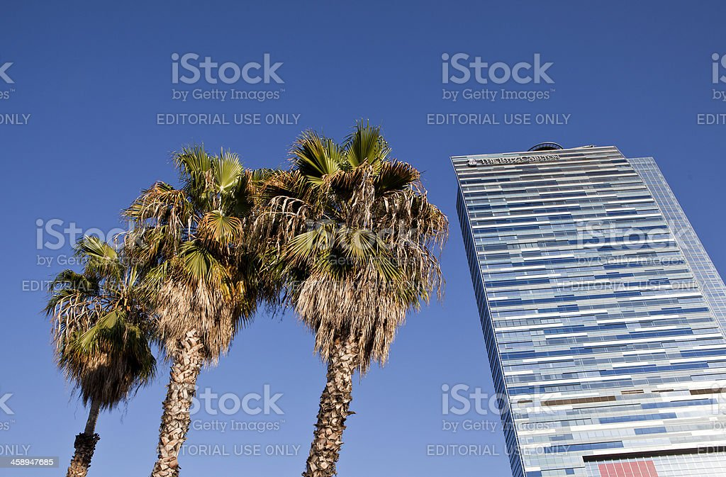 The Ritz Carlton in Los Angeles stock photo
