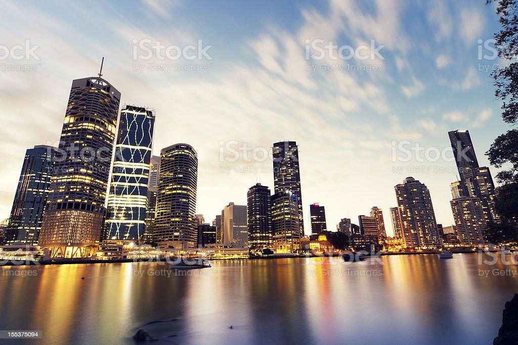 The River City stock photo