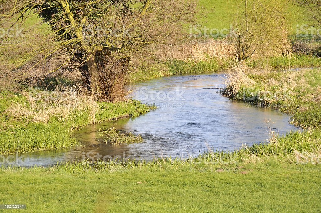 The river darent stock photo