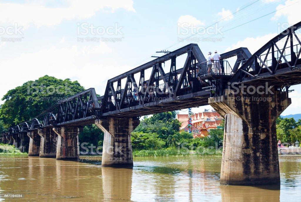 the River Kwai stock photo