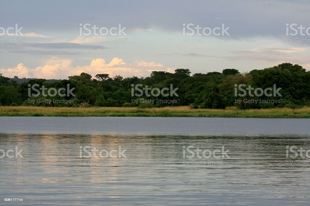 The River Nile, Murchison Falls National Park Safari stock photo