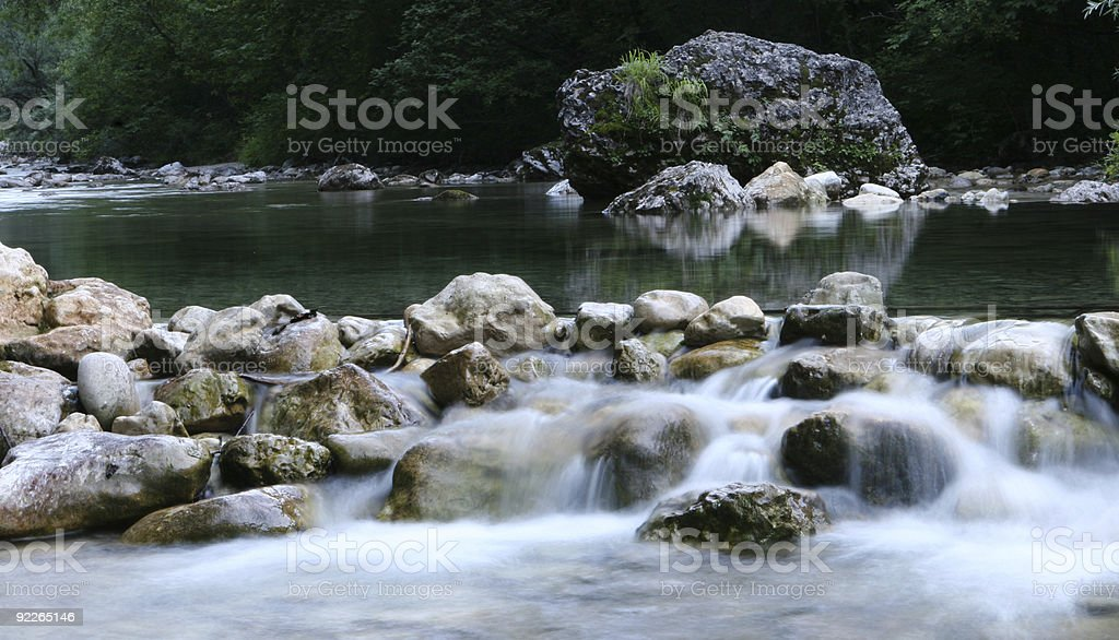 The River Of Life royalty-free stock photo