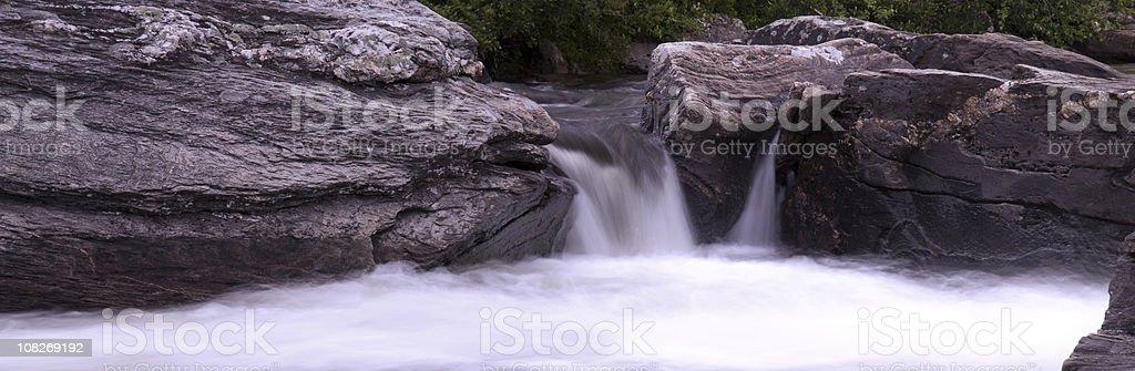 The river of Ljusnan, Sweden stock photo