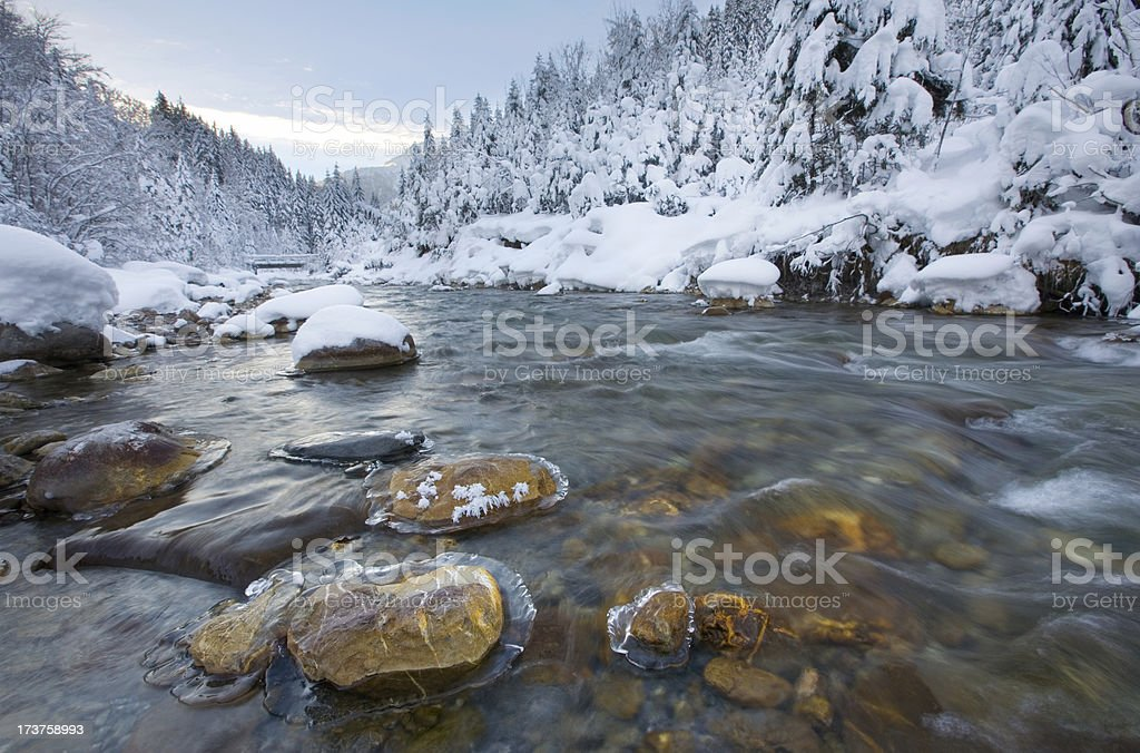 the river rotlech stock photo