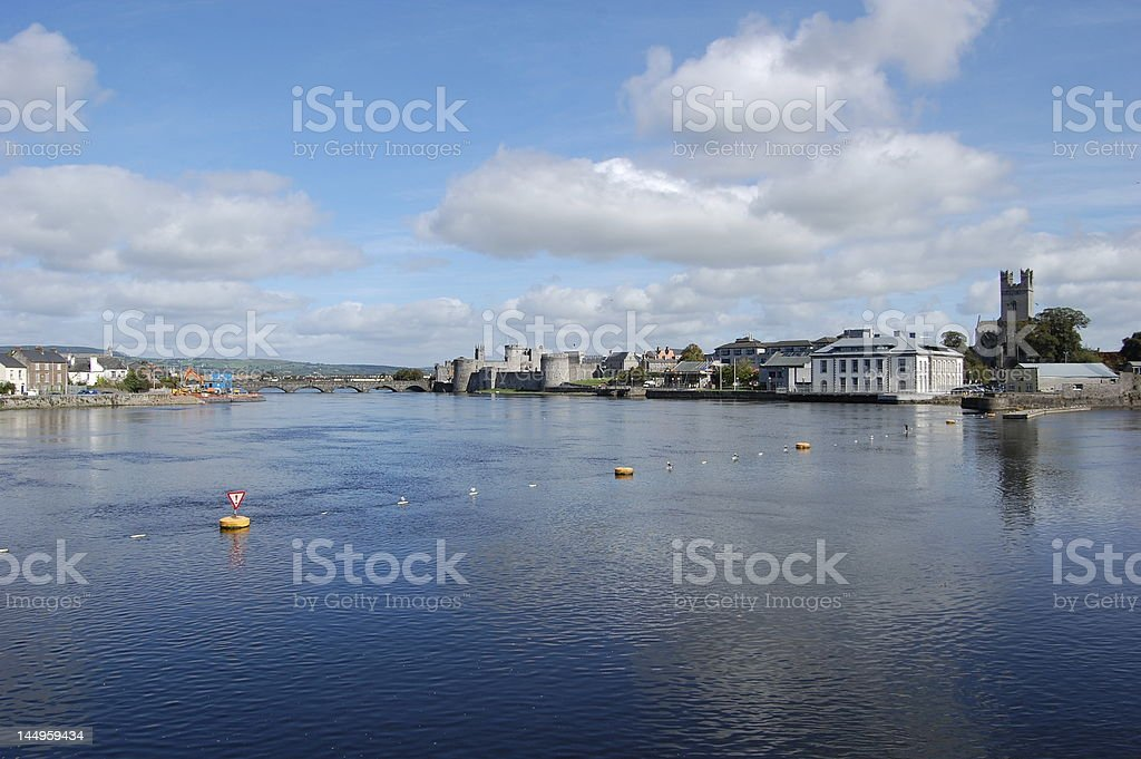 The River Shannon stock photo