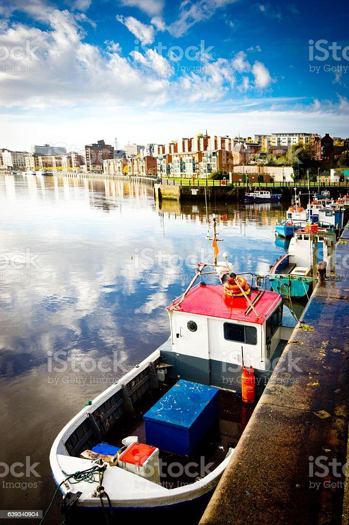 The River Tyne stock photo