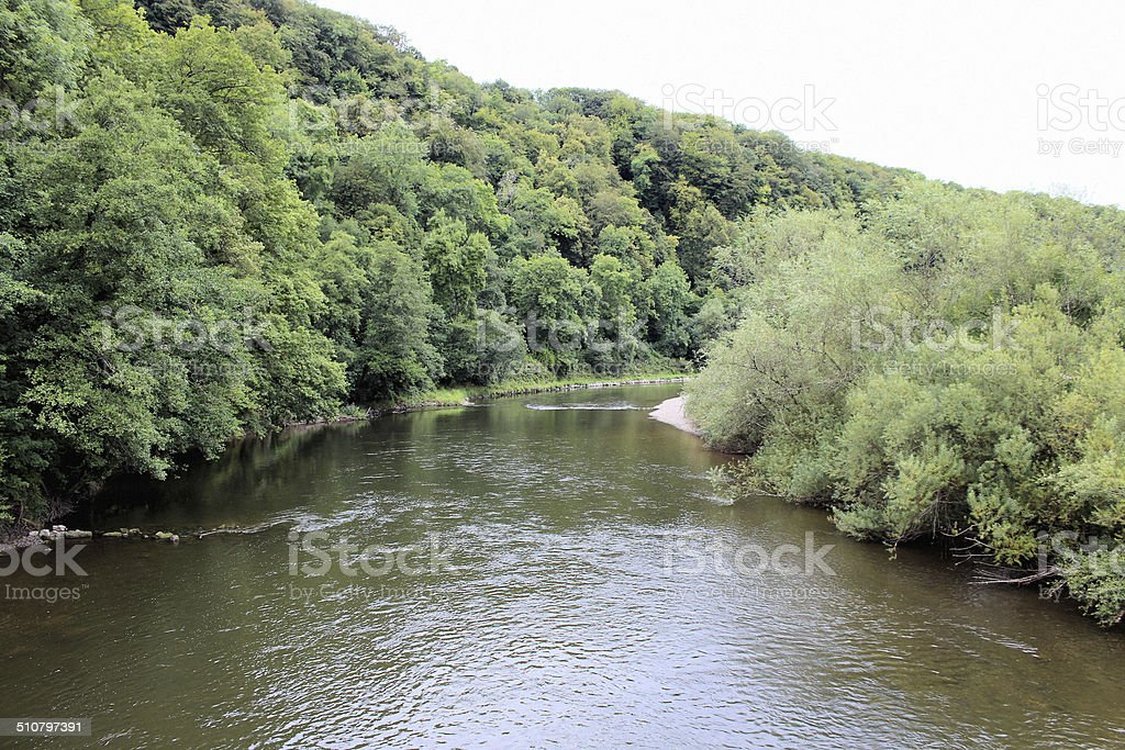 The River Wye stock photo