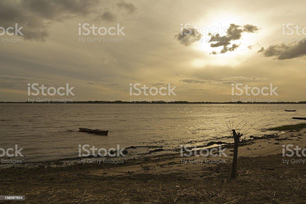 The R?o de la Plata (River of Silver) stock photo