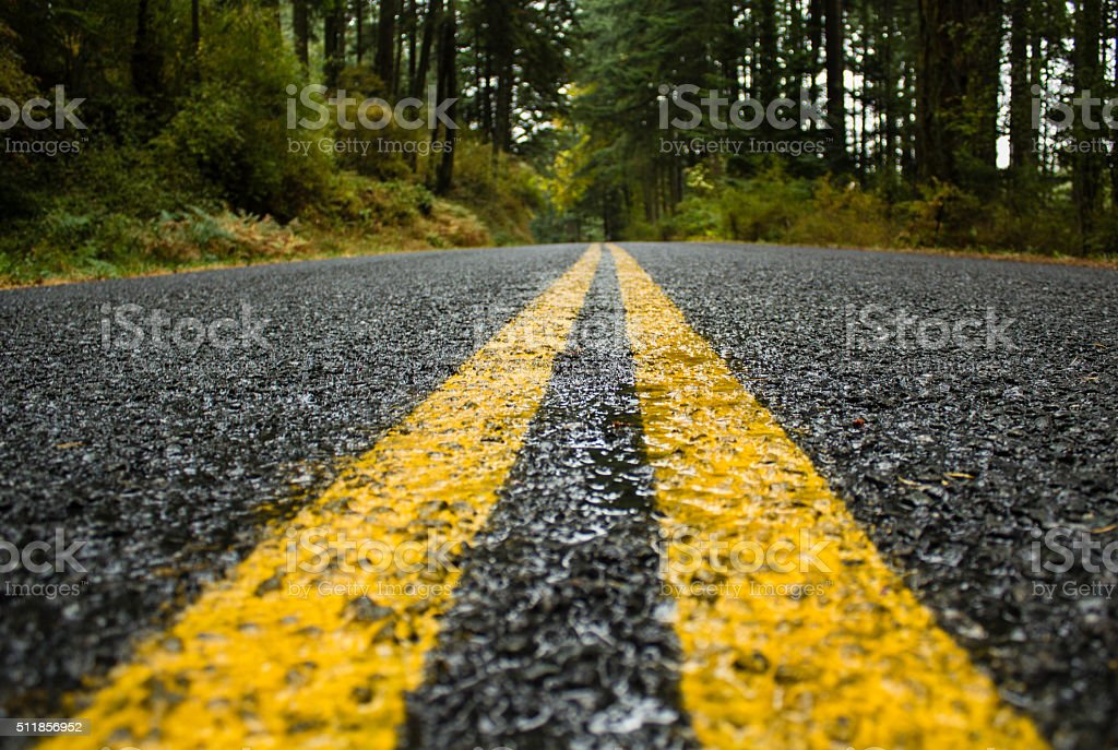 The Road Ahead stock photo
