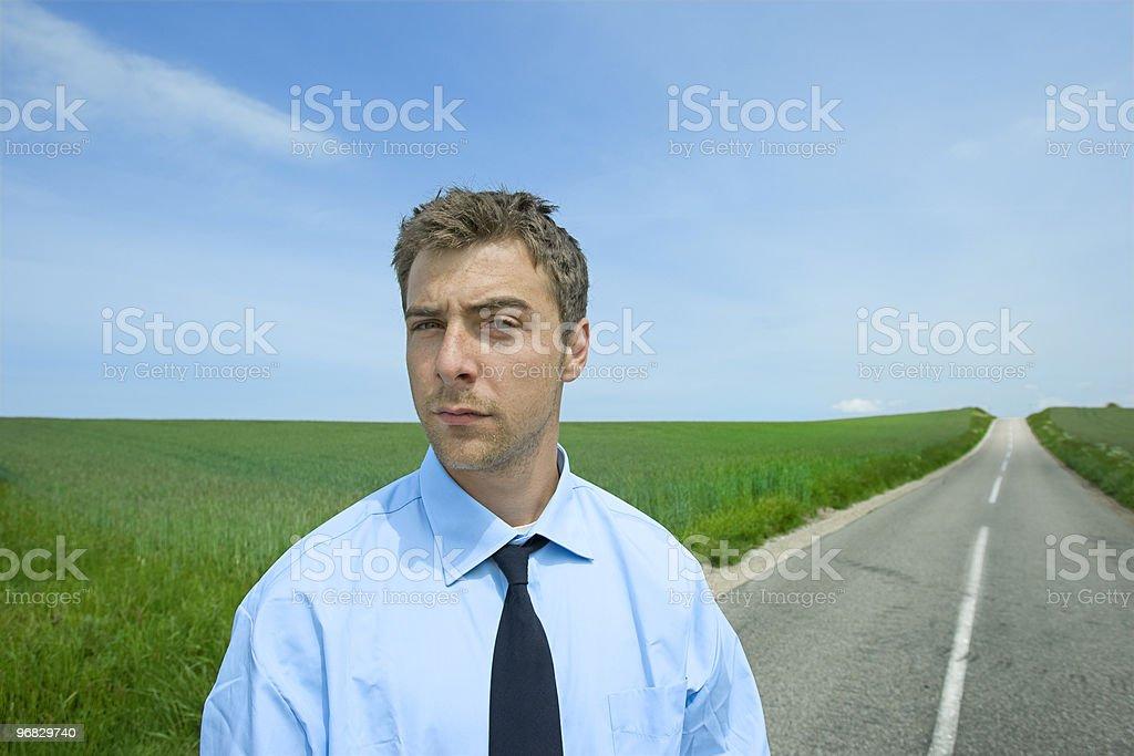 the road ahead royalty-free stock photo