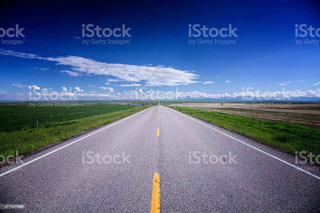 The Road Forward stock photo