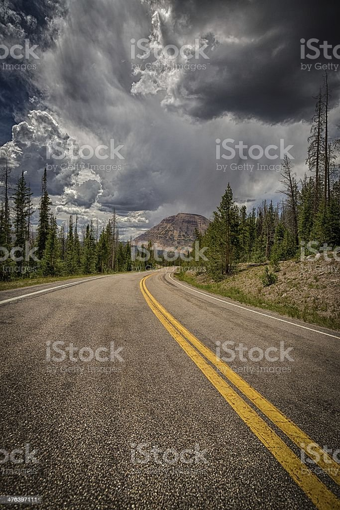 The Road Home royalty-free stock photo