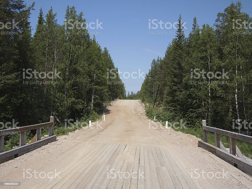 The road royalty-free stock photo