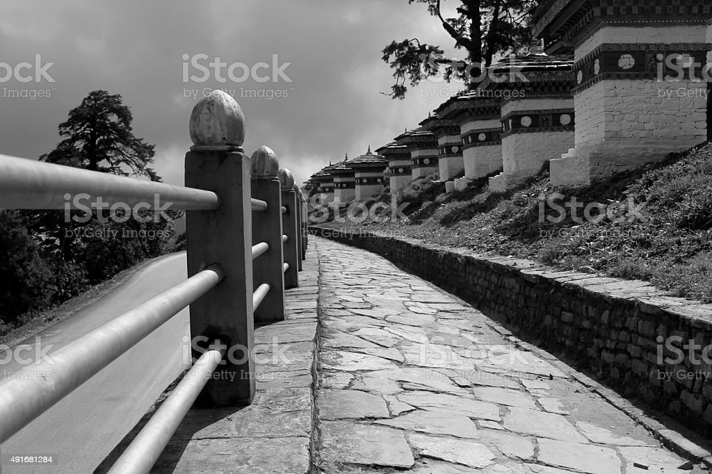 The Road that Leads stock photo