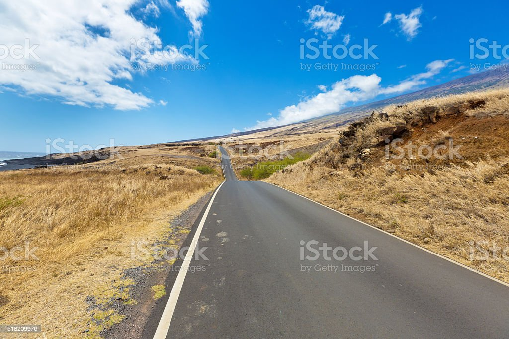 The Road to Hana, a Famous Tourist Destination, Maui Hawaii stock photo
