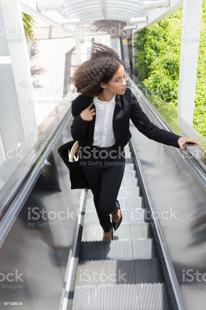 The road to success stock photo