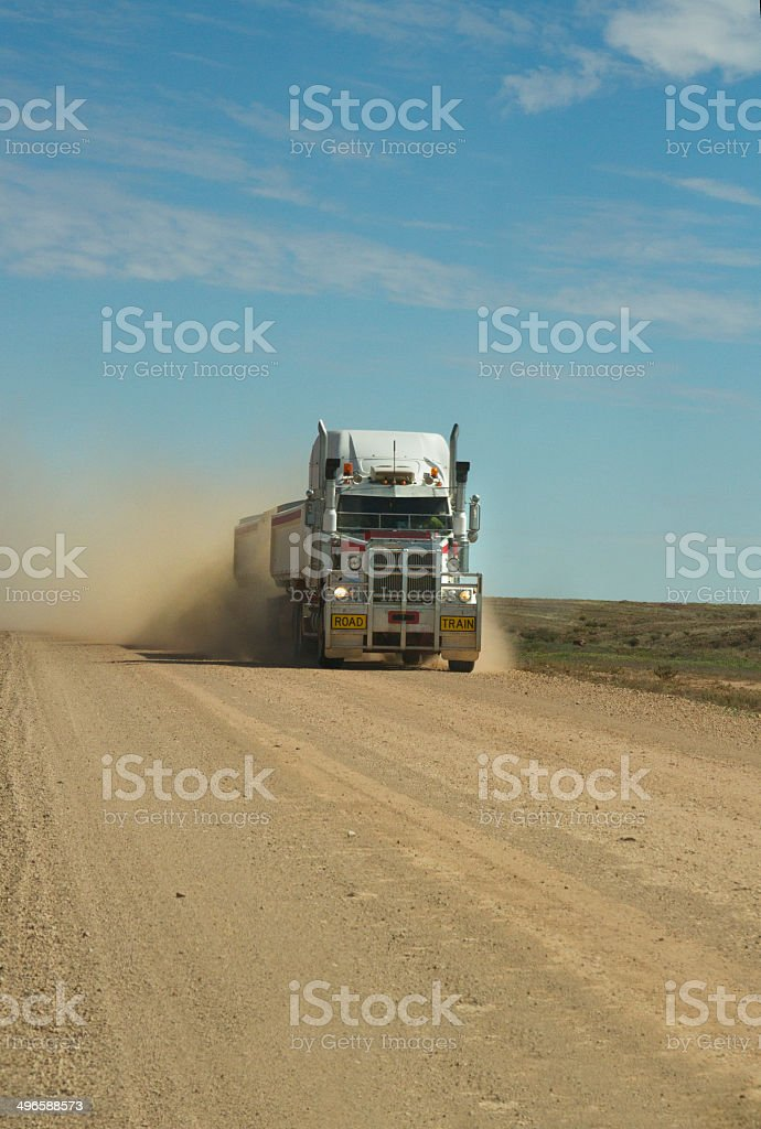 The Road Trian. stock photo