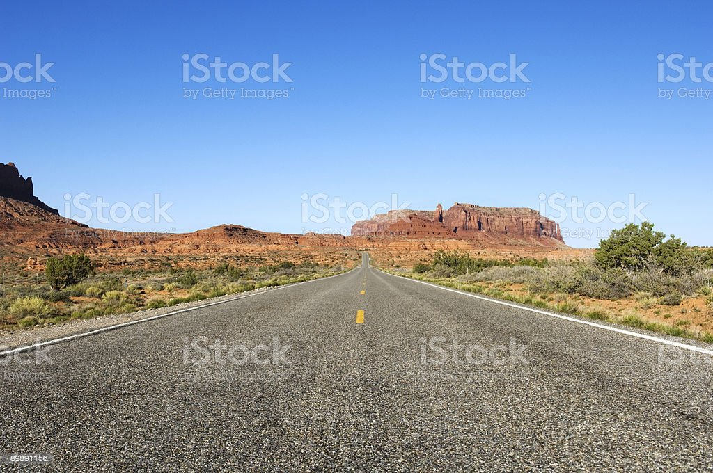 The Road West royalty-free stock photo