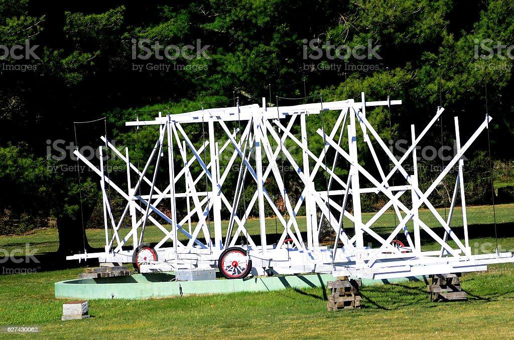 The Robert C. Byrd Green Bank Telescope stock photo