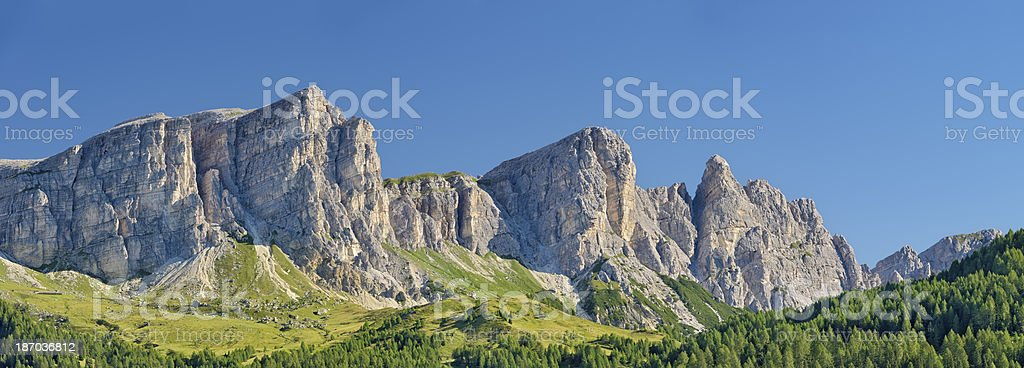 Le Rocchette (Dolomiti) stock photo