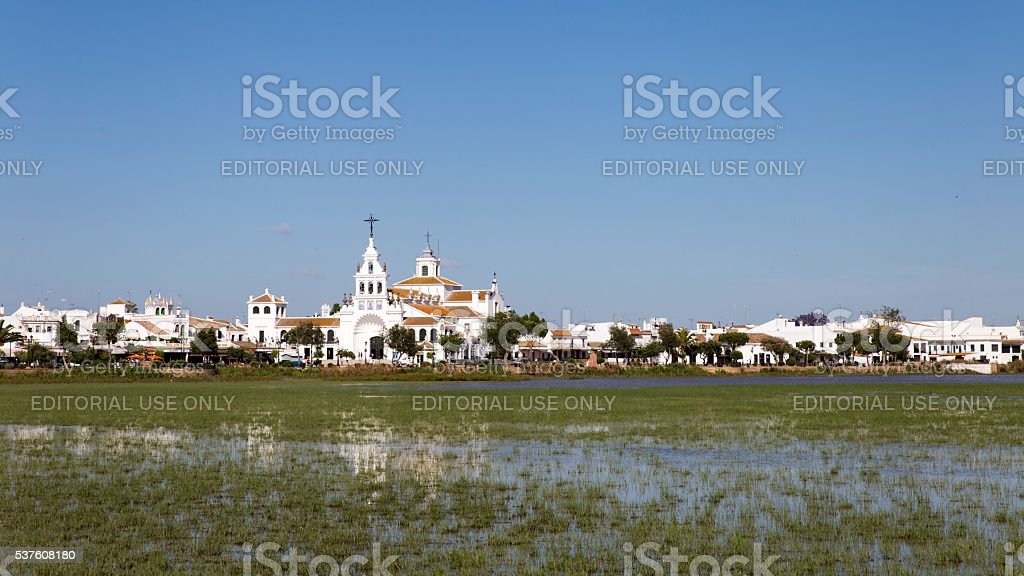 El Rocio stock photo