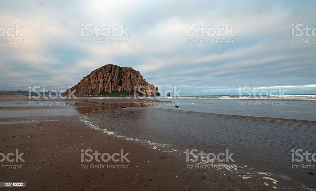 The Rock - Morro Bay Central Coast California USA stock photo