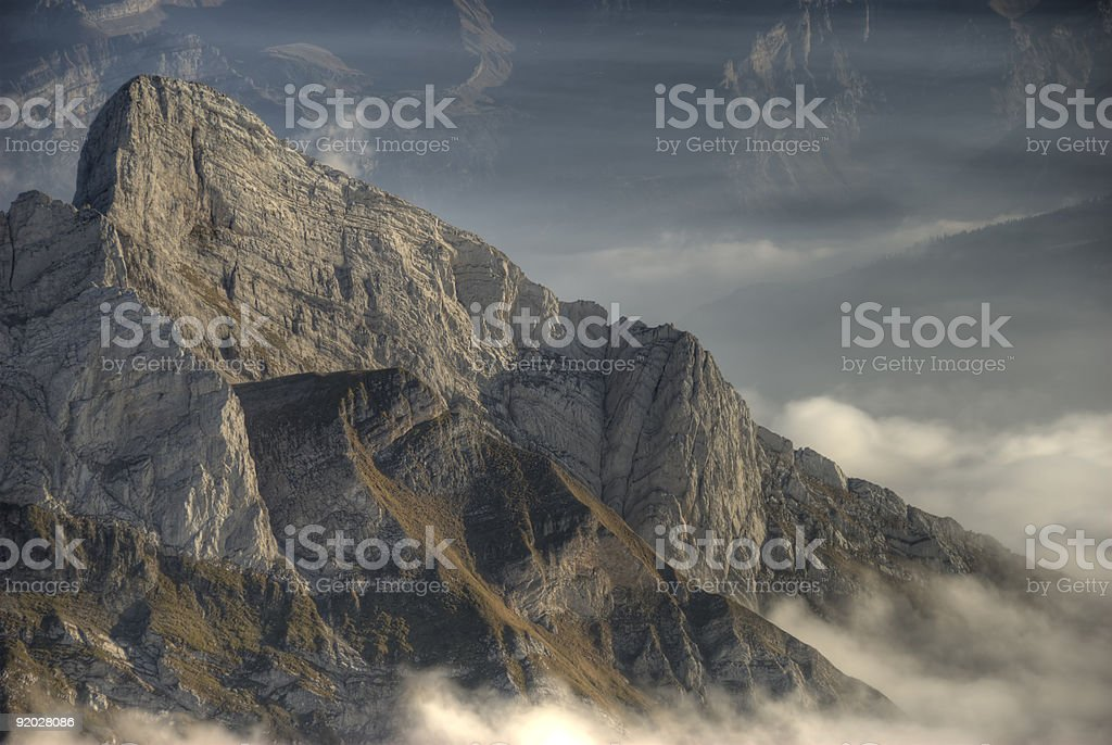 The Rock royalty-free stock photo