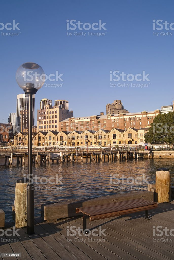The Rocks (Vertical) royalty-free stock photo
