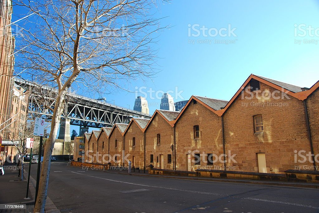 The Rocks, Sydney, Australia stock photo