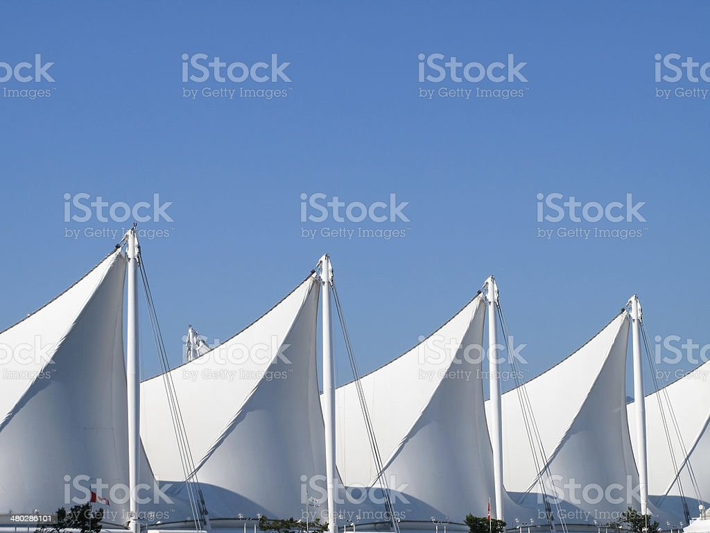 The Roof of Canada Place royalty-free stock photo