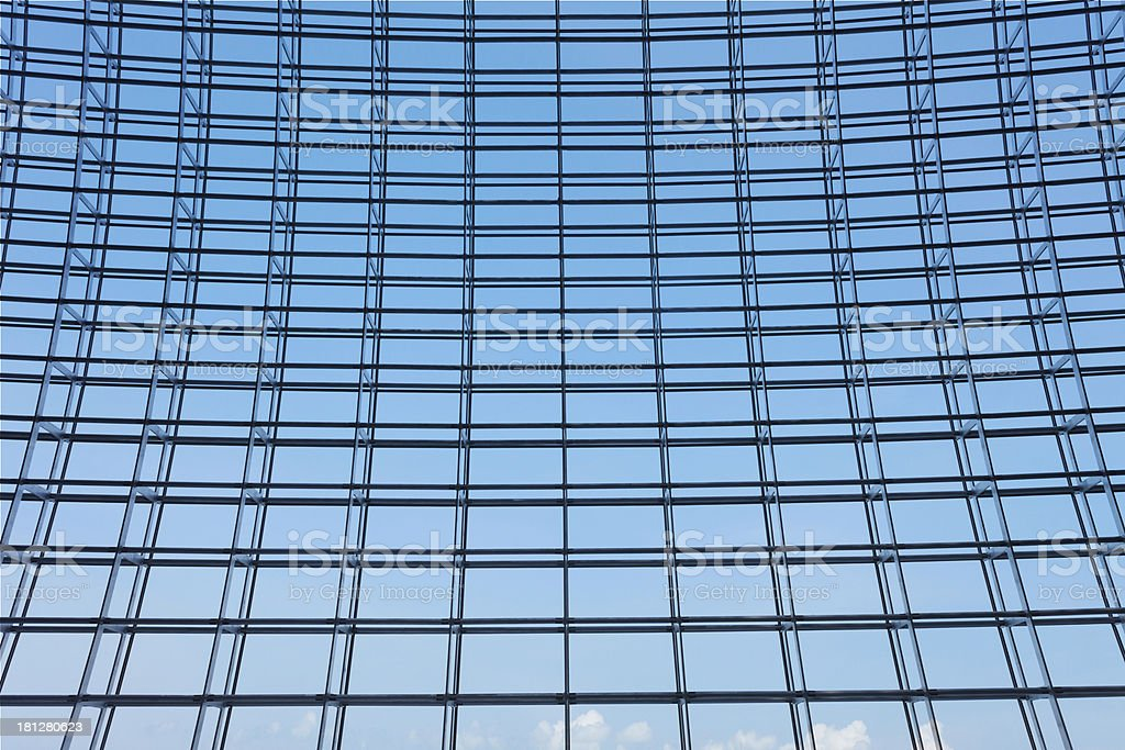 The roof of modern buildings royalty-free stock photo