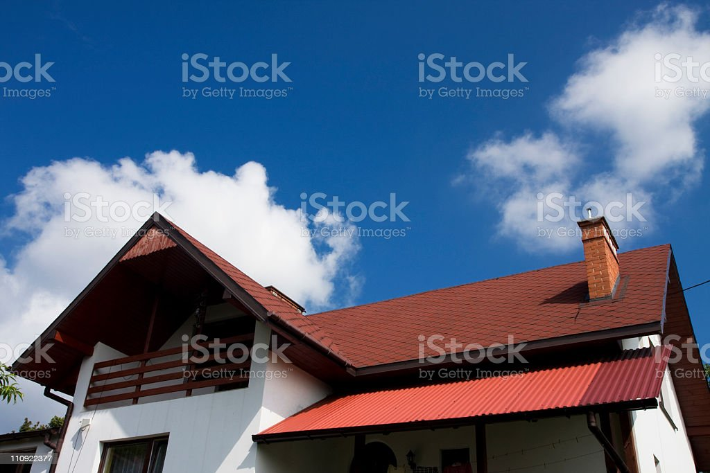 The roofs royalty-free stock photo