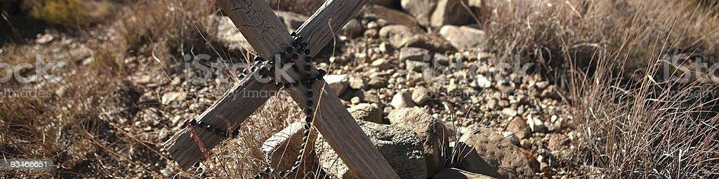 The Rosary stock photo