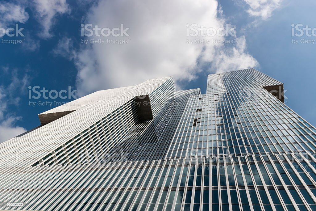 The Rotterdam Building royalty-free stock photo