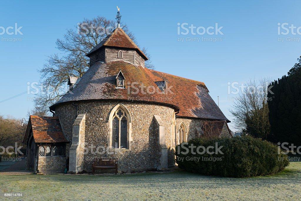 The Round Church. stock photo