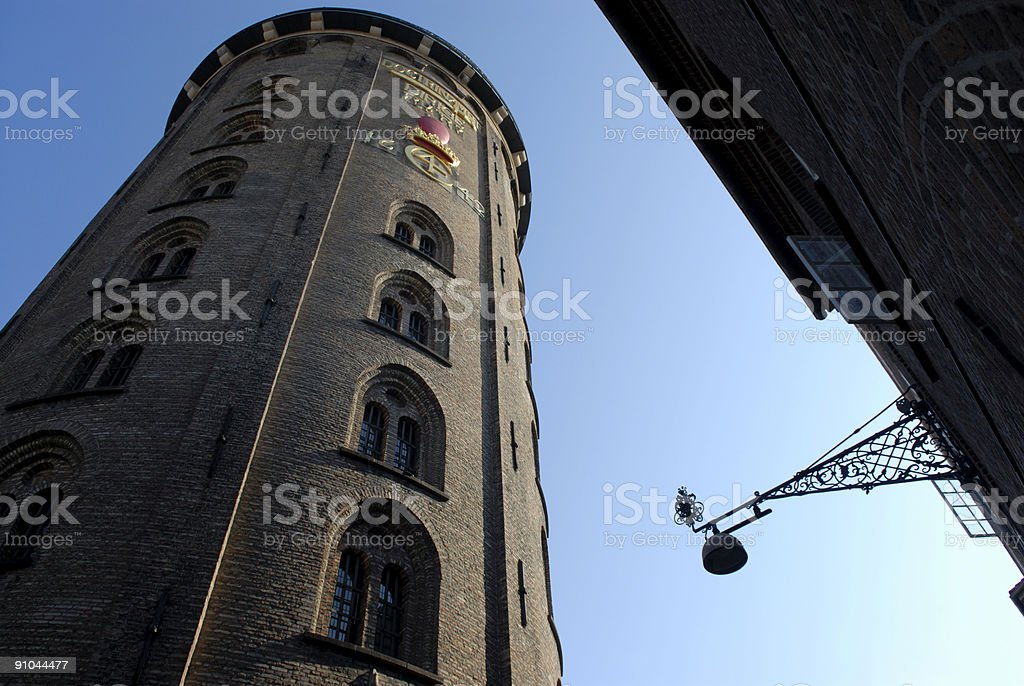 The Round Tower stock photo