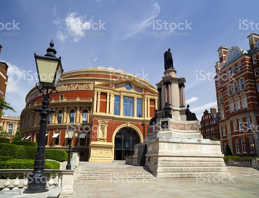 The Royal Albert Hall, London stock photo