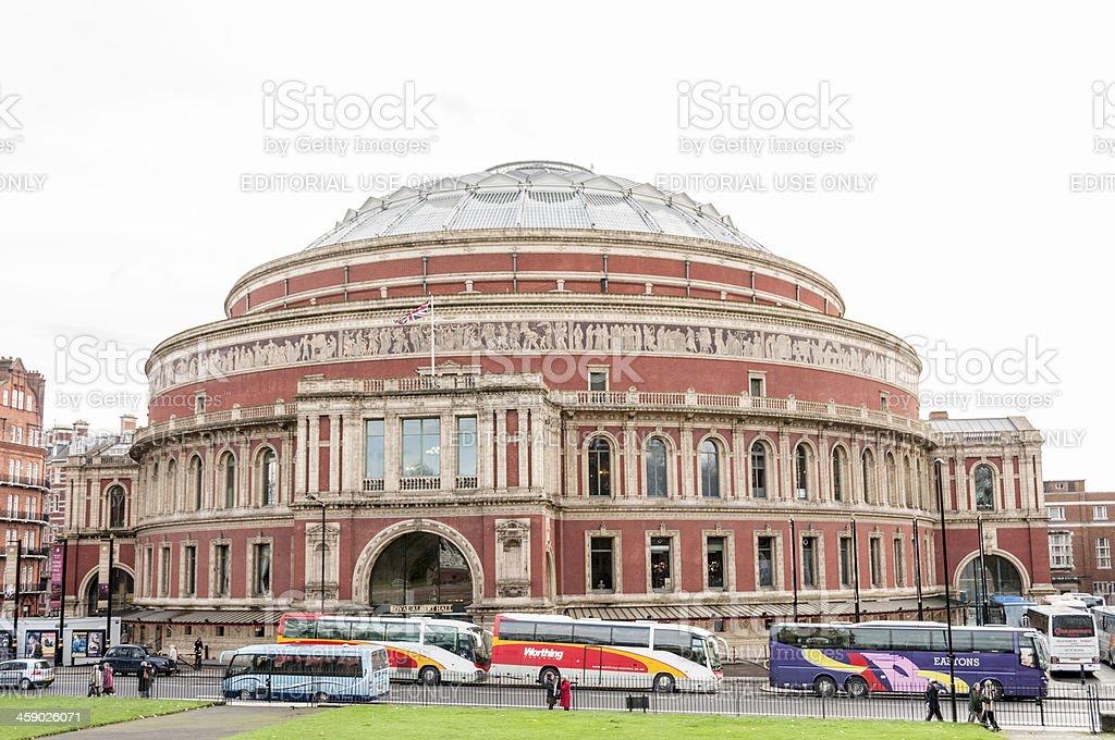 The Royal Albert Hall royalty-free stock photo