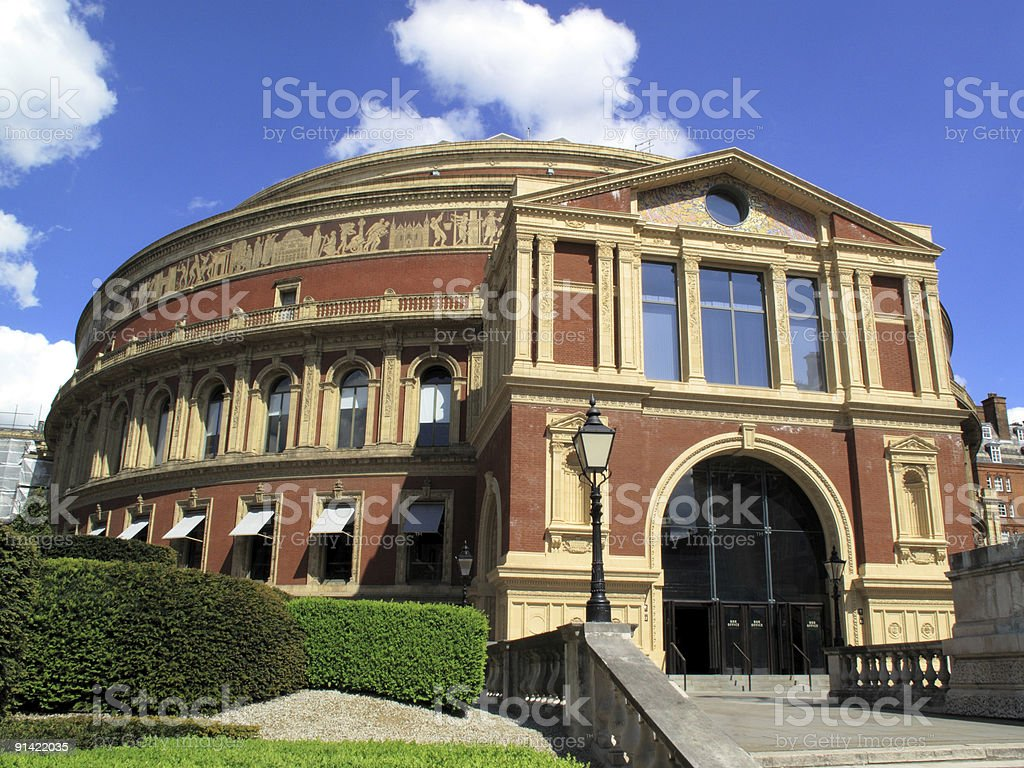 The Royal Albert Hall royalty-free stock photo