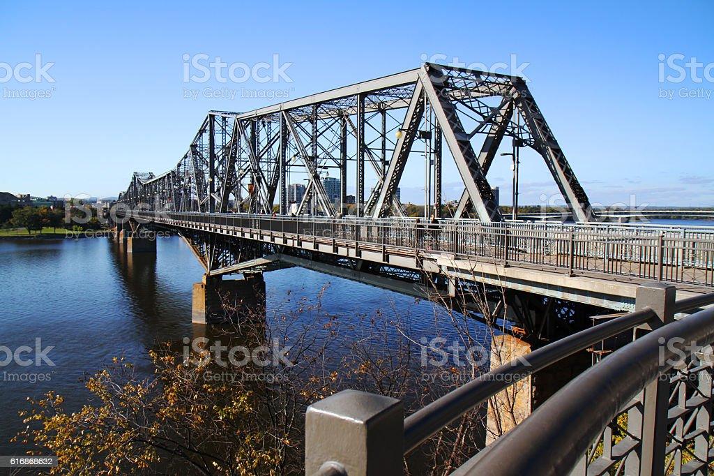 The Royal Alexandra Interprovincial Bridge stock photo