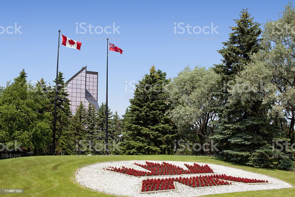 The Royal Canadian Mint royalty-free stock photo