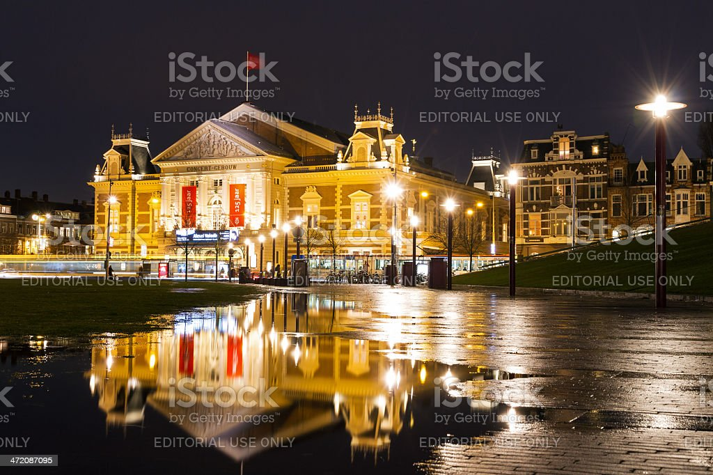 The Royal concert building royalty-free stock photo