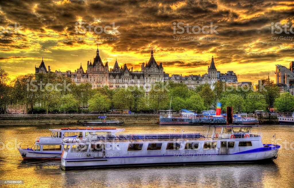 The Royal Horseguards Hotel, a historic building in London stock photo
