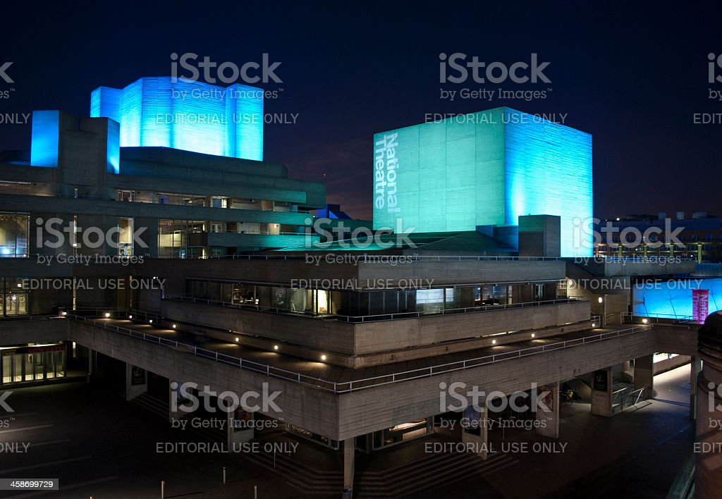 The Royal National Theatre stock photo