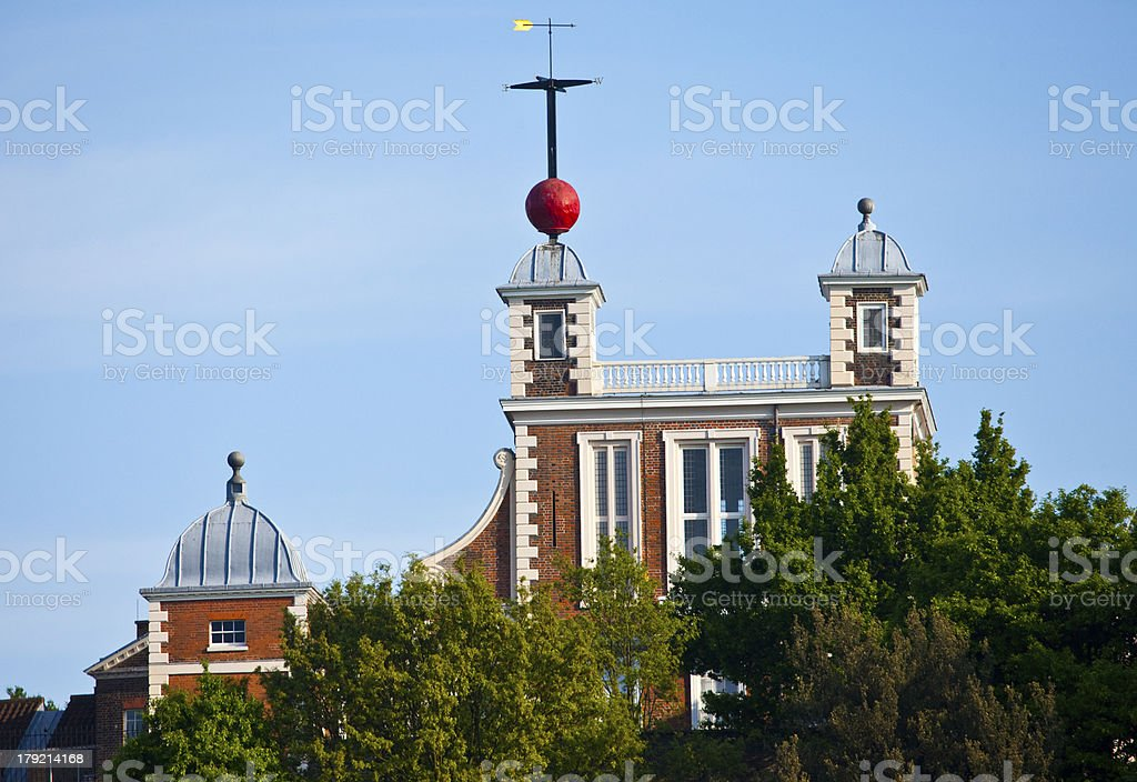 The Royal Observatory in Greenwich, London stock photo