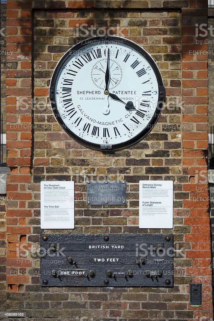 The Royal Observatory stock photo