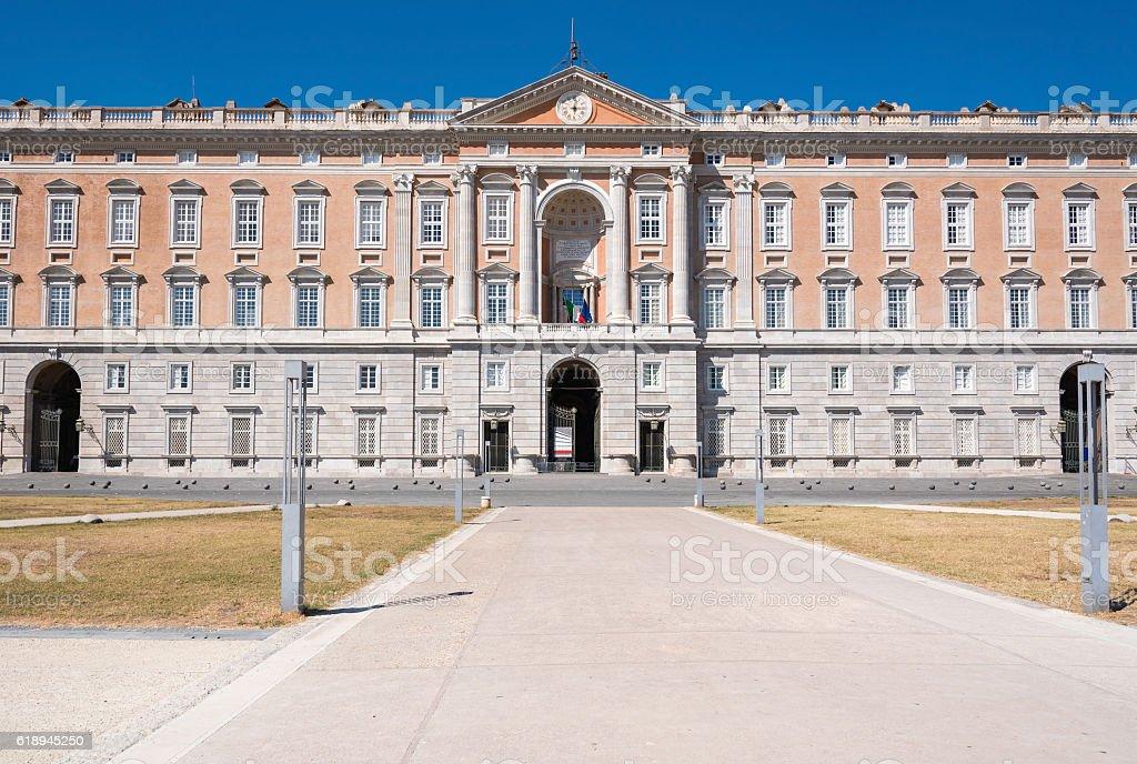 The Royal Palace of Caserta stock photo
