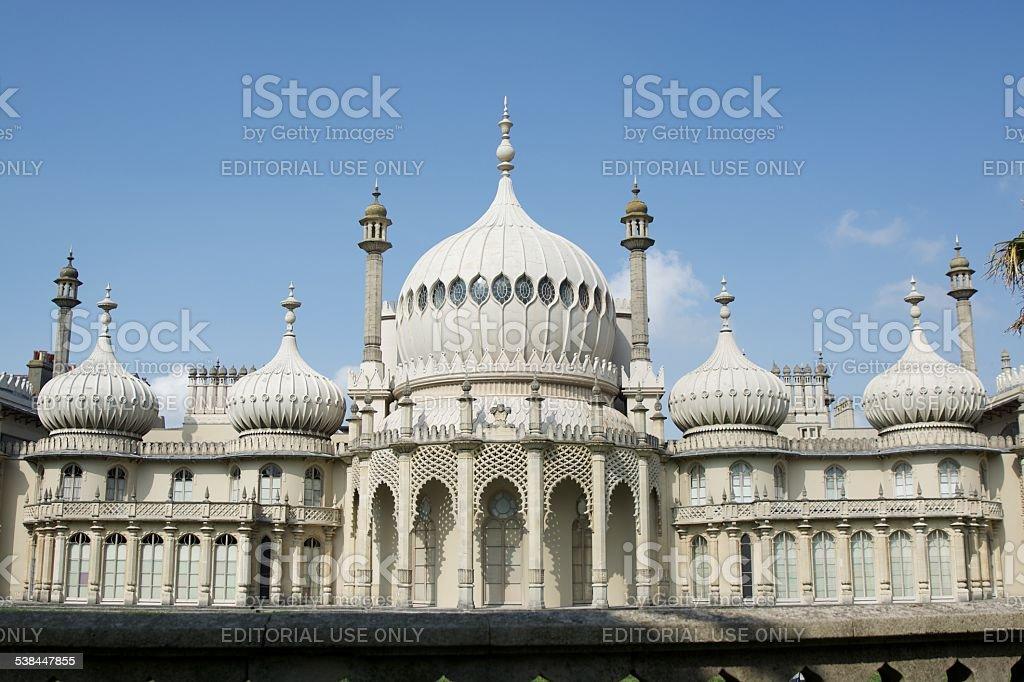 The Royal Pavilion. Brighton stock photo
